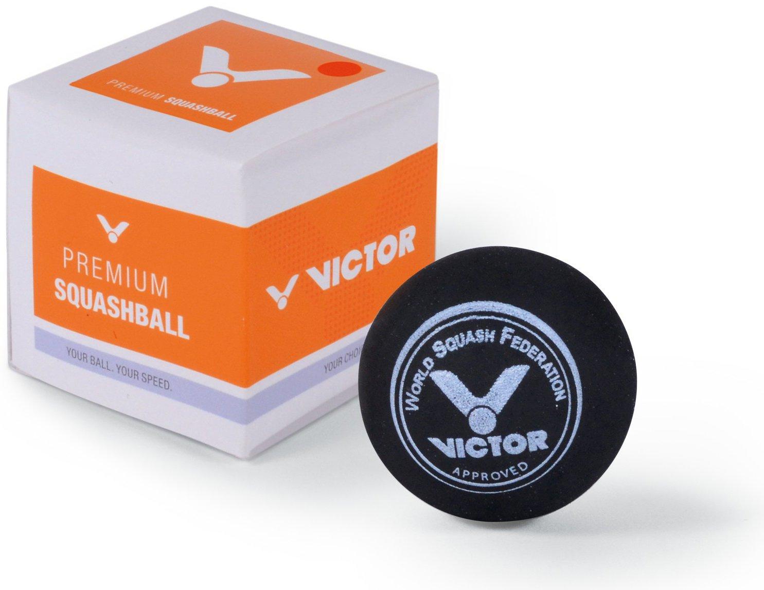 Victor Balle de Squash, Rouge, Carton Individuel VCTR5|#VICTOR 169/5/0
