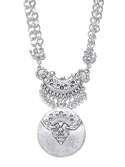 f31e1a7b0feca Buy Thingalicious Oxidised Jewellery Silver-Plated Handcrafted ...