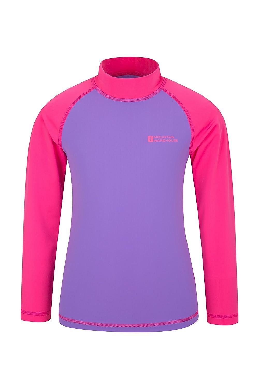 Mountain Warehouse Kids Rash Vest - UV Protection Rash Guard