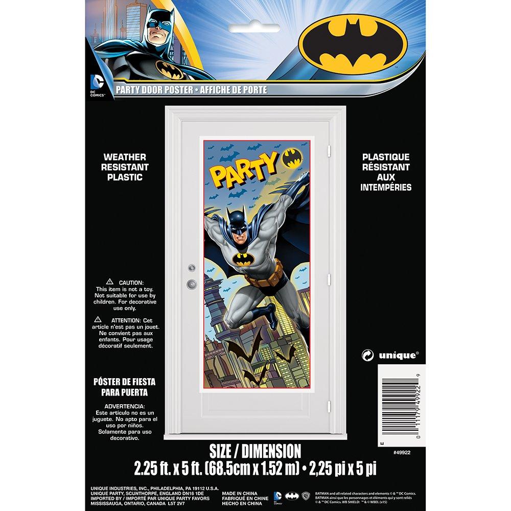 Batman Party Decorating Kit 7pc