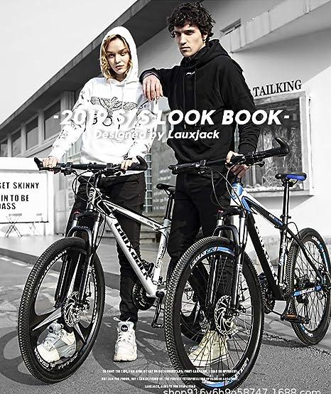 DJP Bicicleta de Montaña, Muebles Frenos de Doble Disco Bicicleta de Montaña, Bicicletas de Montaña 26 Pulgadas Acero Carbo Bicicleta de Montaña Acero con Alto Contenido de Carbono Bicicletas Plegabl: Amazon.es: Bricolaje