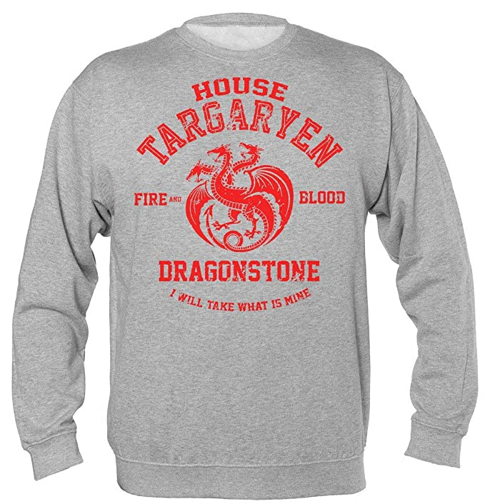 851e6a11398b3 House Targaryen Fire and Blood Dragonstone I Will Take What is Mine  Sudadera Unisex  Amazon.es  Ropa y accesorios