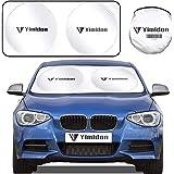 Evitare i Raggi del Sole Ripiegabile Parasole per Auto Parabrezza Anteriore Protettore Contro i Raggi UV 167/×92.5 CM Tchipie Parasole per auto parabrezza