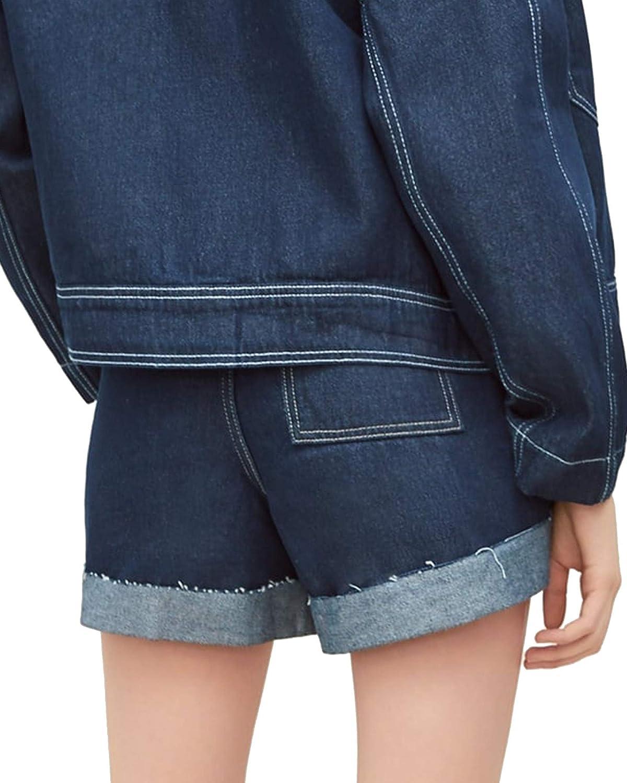 03f4a419c5 Zara Women Denim Bermuda Shorts with Belt 4979/028 Women Shorts