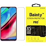 Dainty Tempered Glass Screen Guard Gorilla Protector for Samsung Galaxy M30 with Easy Installation Kit (Full Screen Coverage Except Edges - 11D Original Temper) (Transparent) (Pack of 1)
