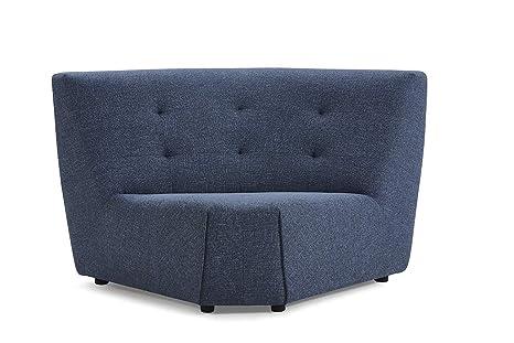 Muebletmoi - Módulo de ángulo Modular para sofá de Tela ...