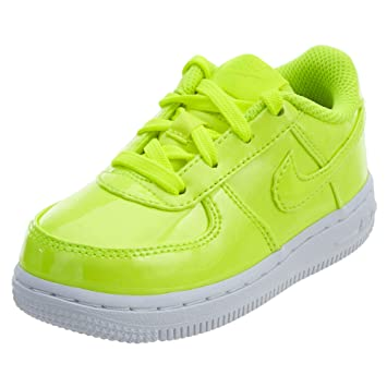 lowest price 7935d 7b8a5 Nike Air Force 1 LV8 UV Volt Volt-White-White (Toddler)