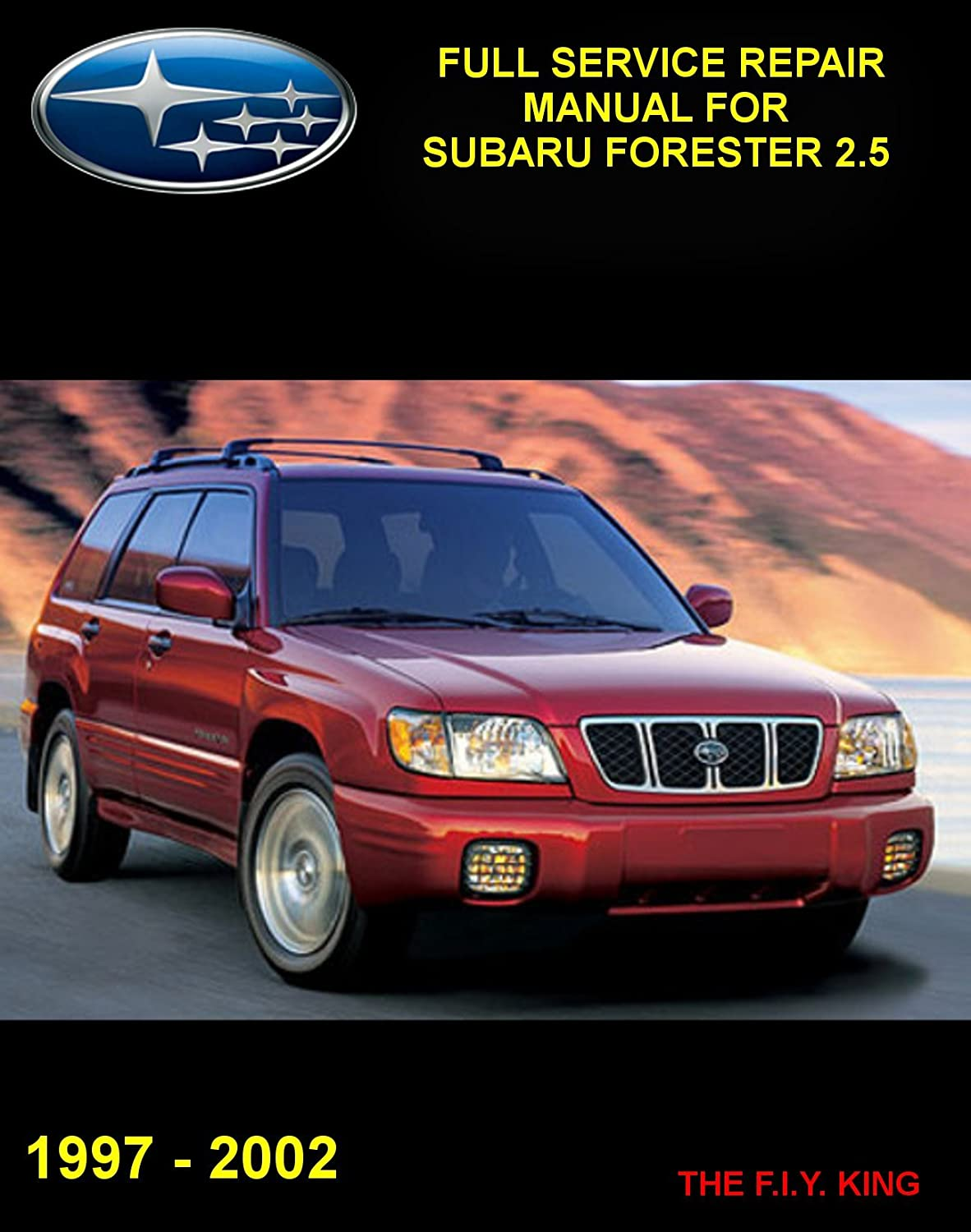 Amazon.com: 97-02 Subaru Forester Full Service Repair Manual on Cd-rom:  Everything Else