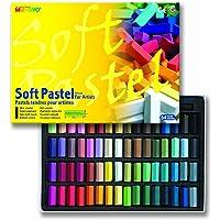 Mungyo Soft Pastel 64 Colour Set Square Chalk