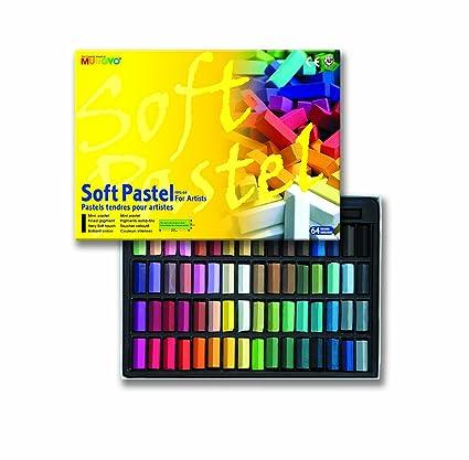amazon com mungyo soft pastel 64 color set square chalk
