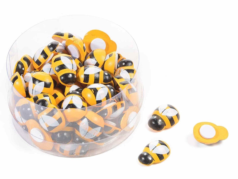 2 Scatola 60 api in legno con adesivo Ideapiu