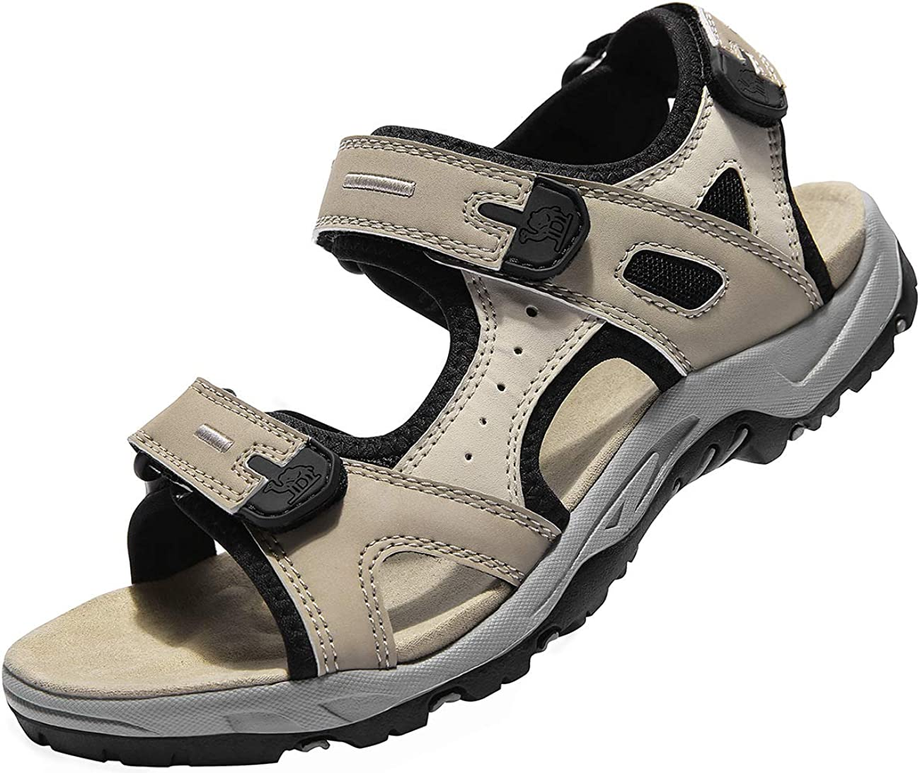 CAMEL CROWN Comfortable Outdoor Water Hiking Sandals for Women with Arch Support Open-Toe Waterproof Women Sport Beach Sandals