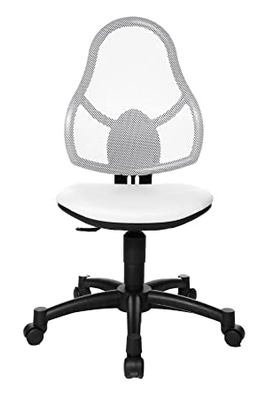 Topstar Open Art Junior Kids And Youths Swivel Chair   White
