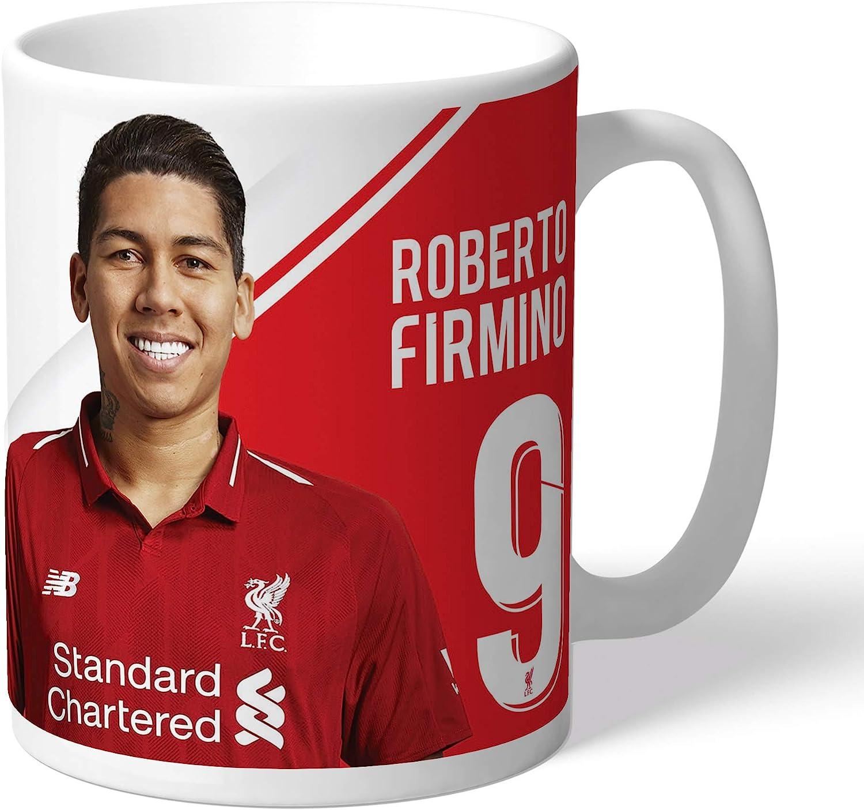 Official Personalised Liverpool Firmino Signature Mug