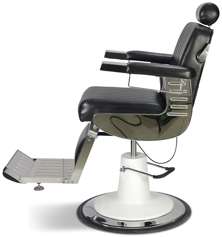 "Amazon ""Grant"" Vintage Reclining Hair Salon Barber Chair Beauty"