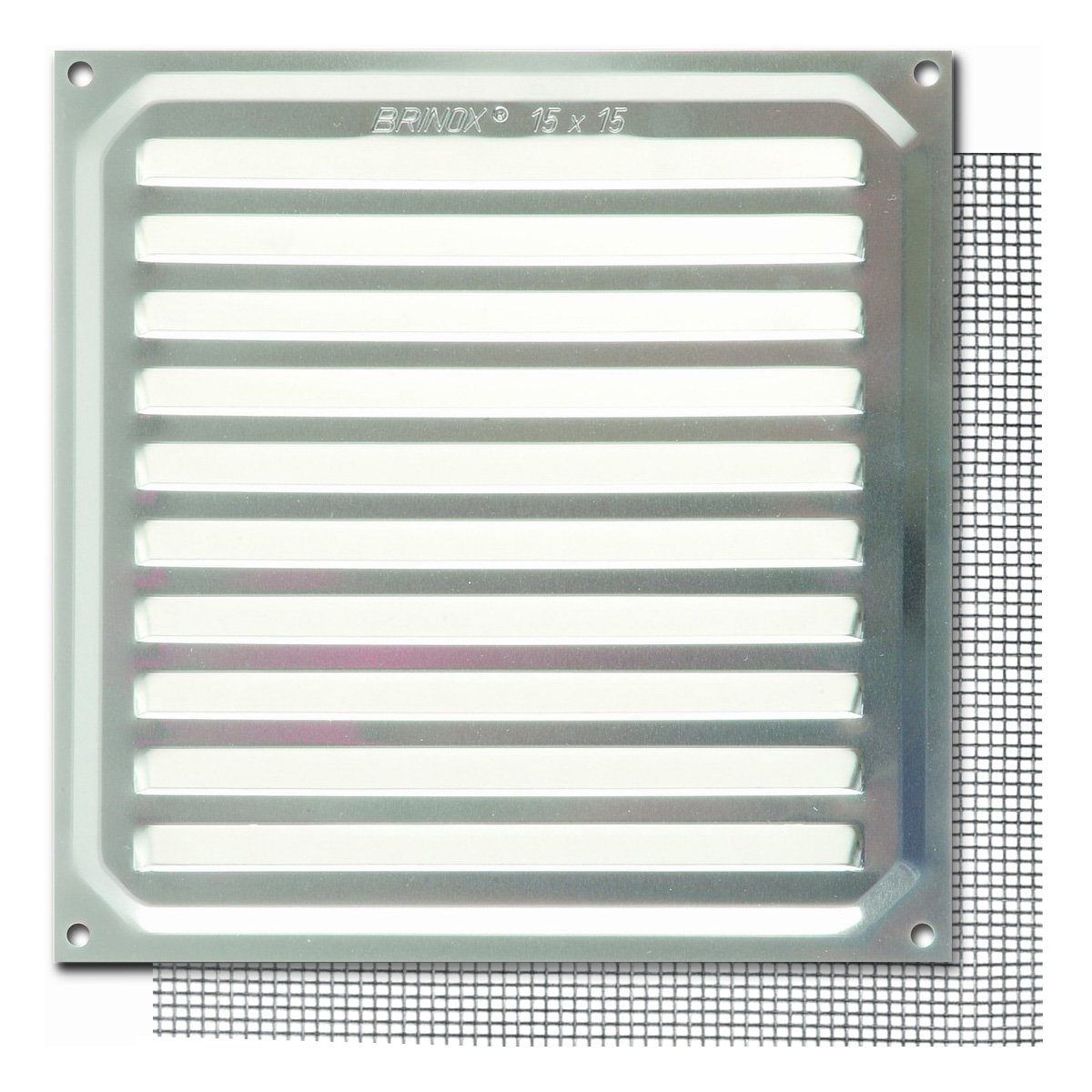 Aluminio 17 x 17 cm Brinox B73020A Rejilla con mosquitera