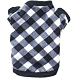 Puppy Clothes, Fashion Pet Dog Cat Fleece Sweater Spring Winter Warm Sweatshirt Shirt Doggy Coat