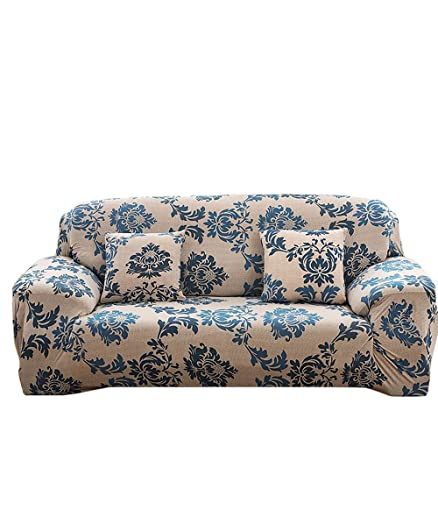 NovaDecor Sofa Cover 3 Seater Stretch Elastic Polyester Fabric