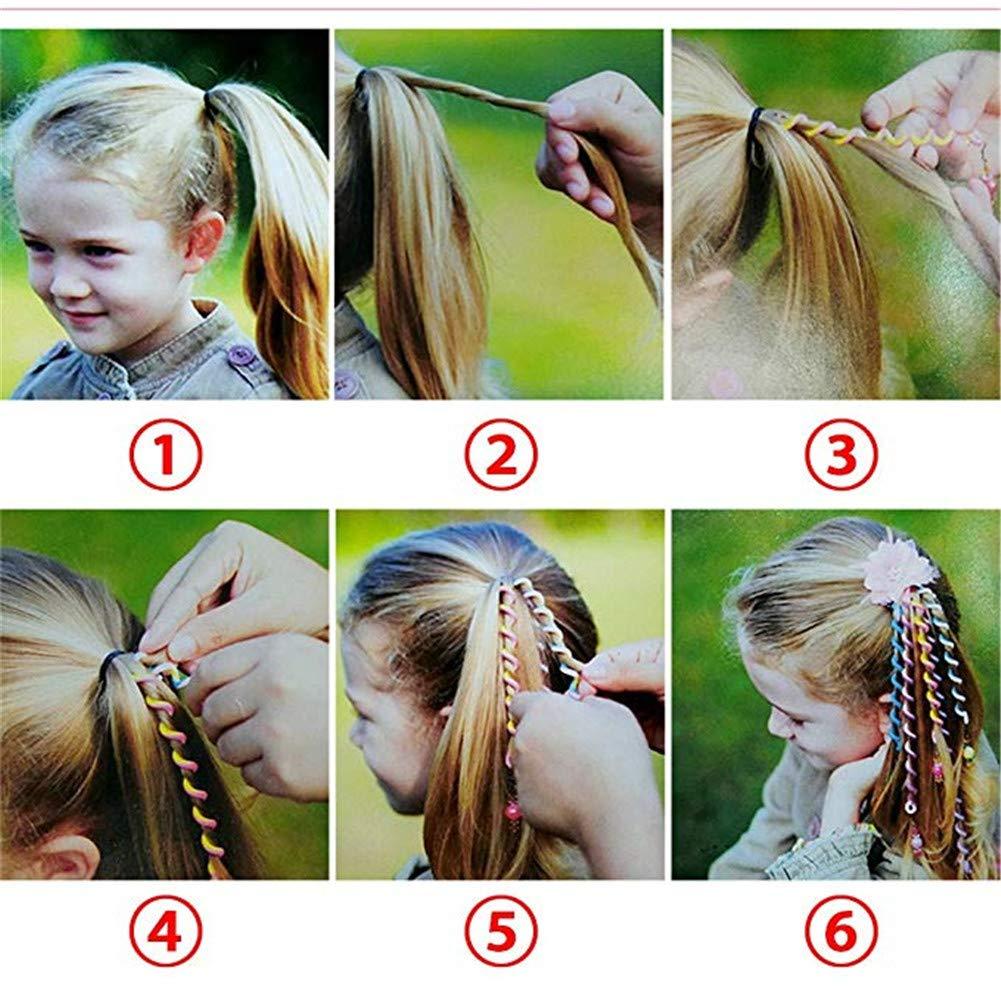 Haar Torsiontorsion Haarschmuckmädchen Haar Styling Twisterfrauen