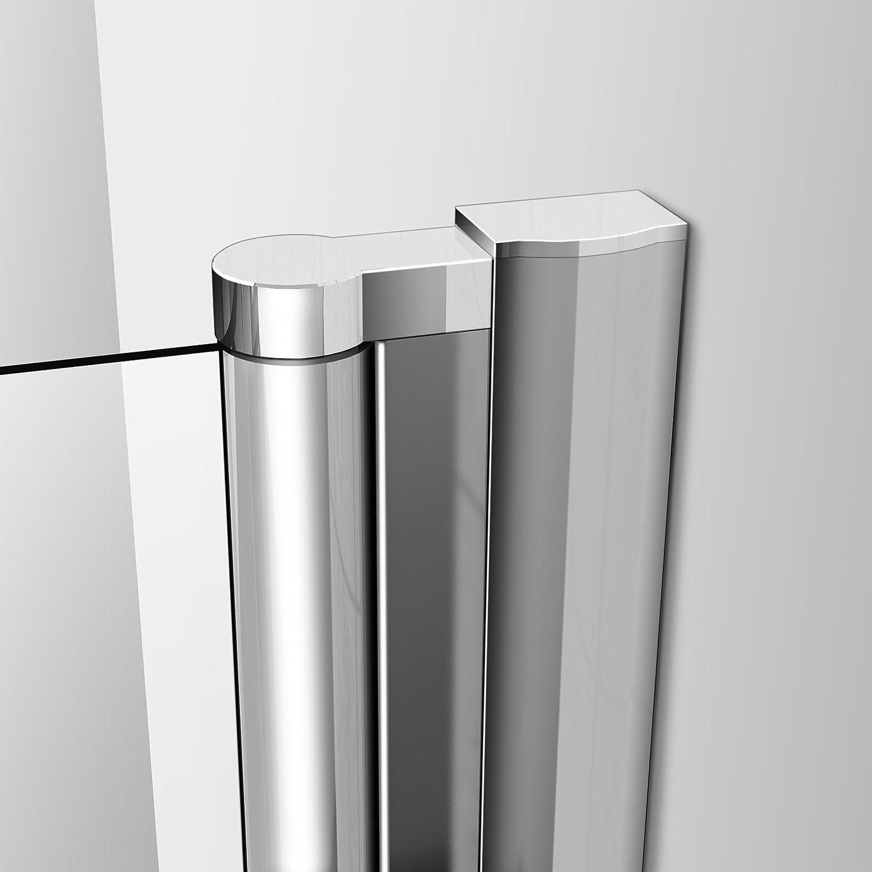 Porte de douche 105x197cm pivotante en niche mod/èle de Vouli