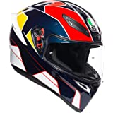 AGV K1 Full Face Motorcycle Helmet - Pitlane Blue/Red/Yellow - XSmall