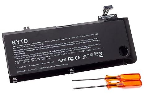 KYTD Batería de Repuesto de Portátil para Apple Macbook Pro 13 Pulgadas A1322 A1278 Unibody MBP