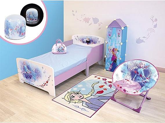 Habitación completa 6 en 1 Frozen 2 Disney=cama + bolsa de ...
