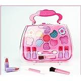 TOYMYTOY Caja de maquillaje Princess Pretend Traveling Makeup Kids Beauty Salon Cosmetic para niñas