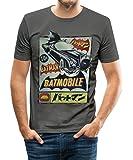 Spreadshirt DC Comics Originals Batman Batmobile Japan Männer Slim Fit T-Shirt