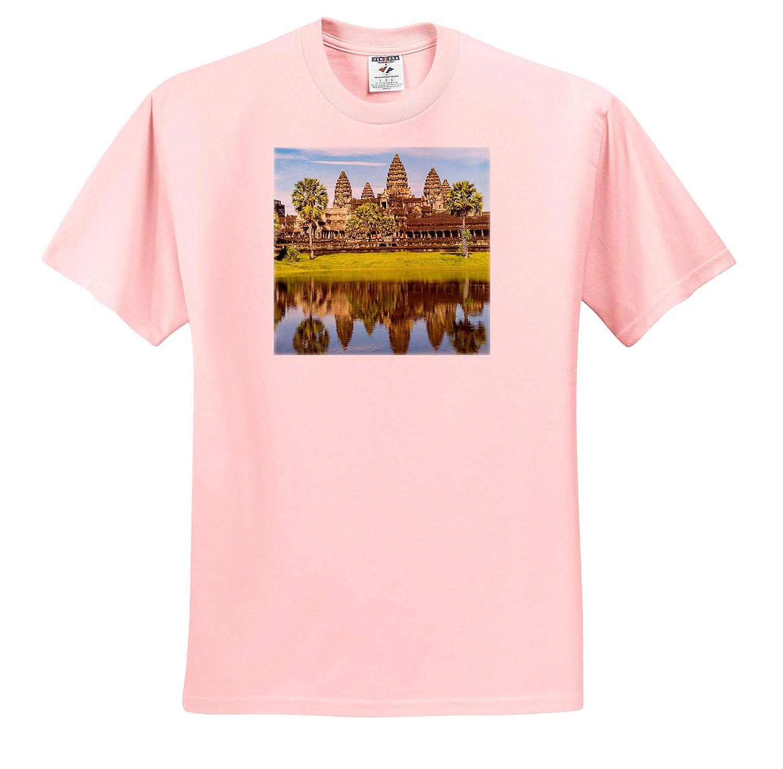 Adult T-Shirt XL 3dRose Danita Delimont Angkor Wat Angkor ts/_312908 Cambodia Cambodia