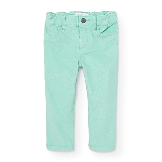 698f0decb The Children's Place Baby Girls' Little Solid Velvet Jegging, Mint Tint  88396, 4T: Amazon.in: Clothing & Accessories