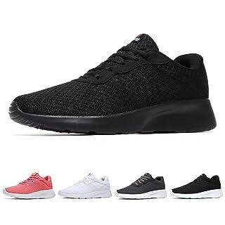 MAIITRIP Womens Workout Sneakers Fashion Gym Slipon Ladies Lightweight Jogging Walking Athletic Tennis Shoes All Black Size 6.5