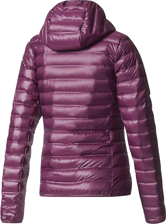 adidas Terrex Lite Down Hooded Jacke Blouson Long Femme Rednit
