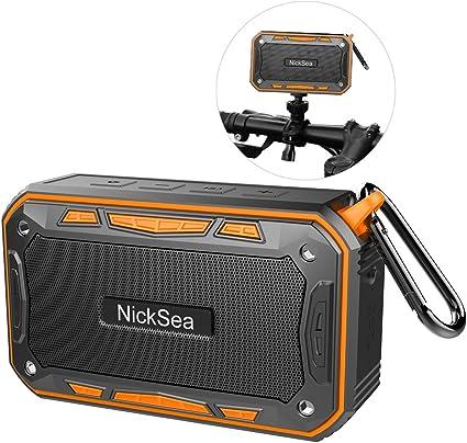 Altavoz Bluetooth Portatil NickSea Altavoz Bluetooth 4,1 ...