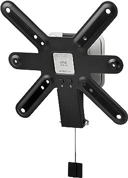 "One For All WM6221, Soporte de pared para TV de 13 a 40"" Inclinable 15° Peso máx. 40kg, Para todo tipo de TVs LED, LCD, Plasma, gris/blanco: Amazon.es: Electrónica"