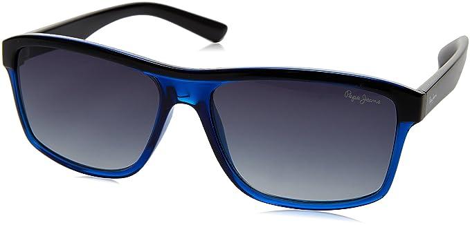Pepe Jeans Pj7148C256 Gafas de sol, Azul/Negras, 56 para ...