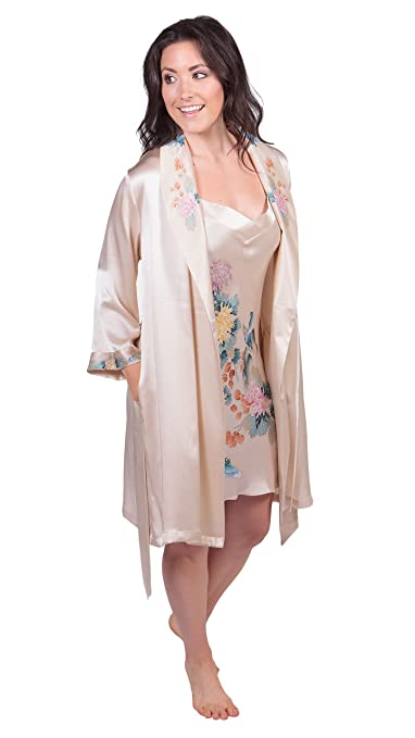 Best Texeresilk Robes For Women  Reviews and Comparison on Flipboard ... 02cce8b15