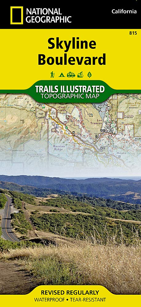 Skyline Boulevard (National Geographic Trails Illustrated Topographic Map Band 815)