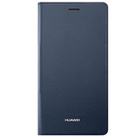 the latest f9704 88d0a Huawei Flip Cover Case for P9 Lite (2017 Model) - Blue
