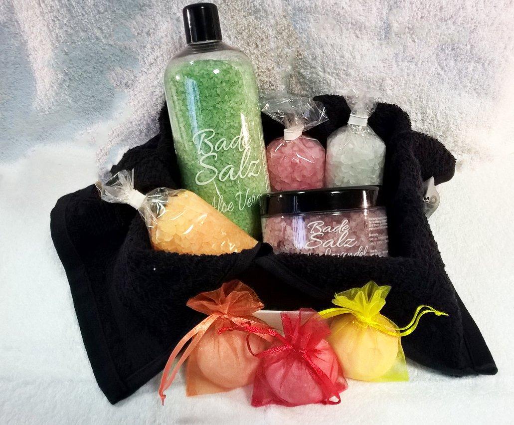 Sali da bagno Maris Sal regalo set Wellness 9 pezzi - direttamente dal produttore aponovis24 729