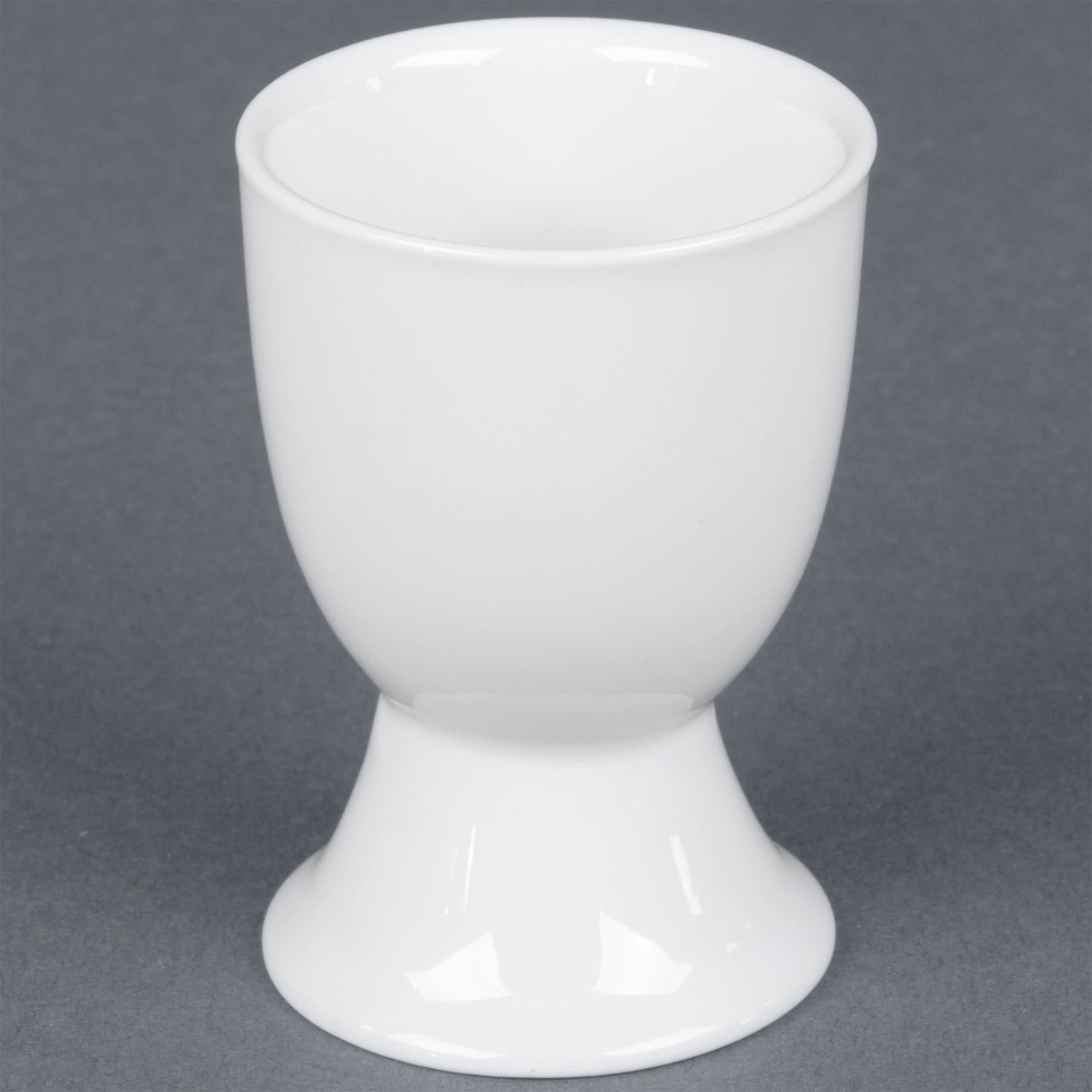 TableTop King EGC-3 White China Egg Cup 1.5 oz. - 48/Case