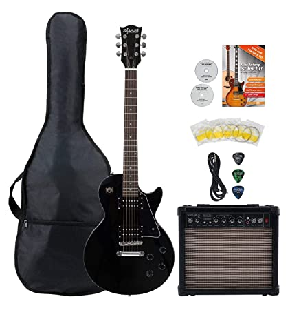 Shaman Element Series SCX-100B Starter Set - Guitarra eléctrica de ...