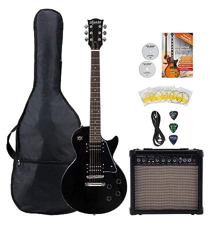 Shaman Element Series SCX-100B Starter Set - Guitarra eléctrica de ...