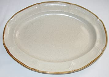 Amazon.com   Hearthside Stoneware The Classics Oval Serving Platter ...