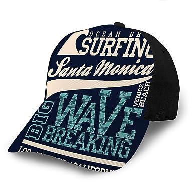 YILINGER Gorras de béisbol Sombreros Surf Santa Monica Playa ...