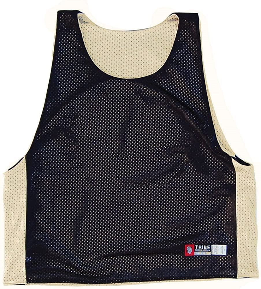 Amigo Tuxedo Sublimated Lacrosse Pinnie Adult X-Large Black//White
