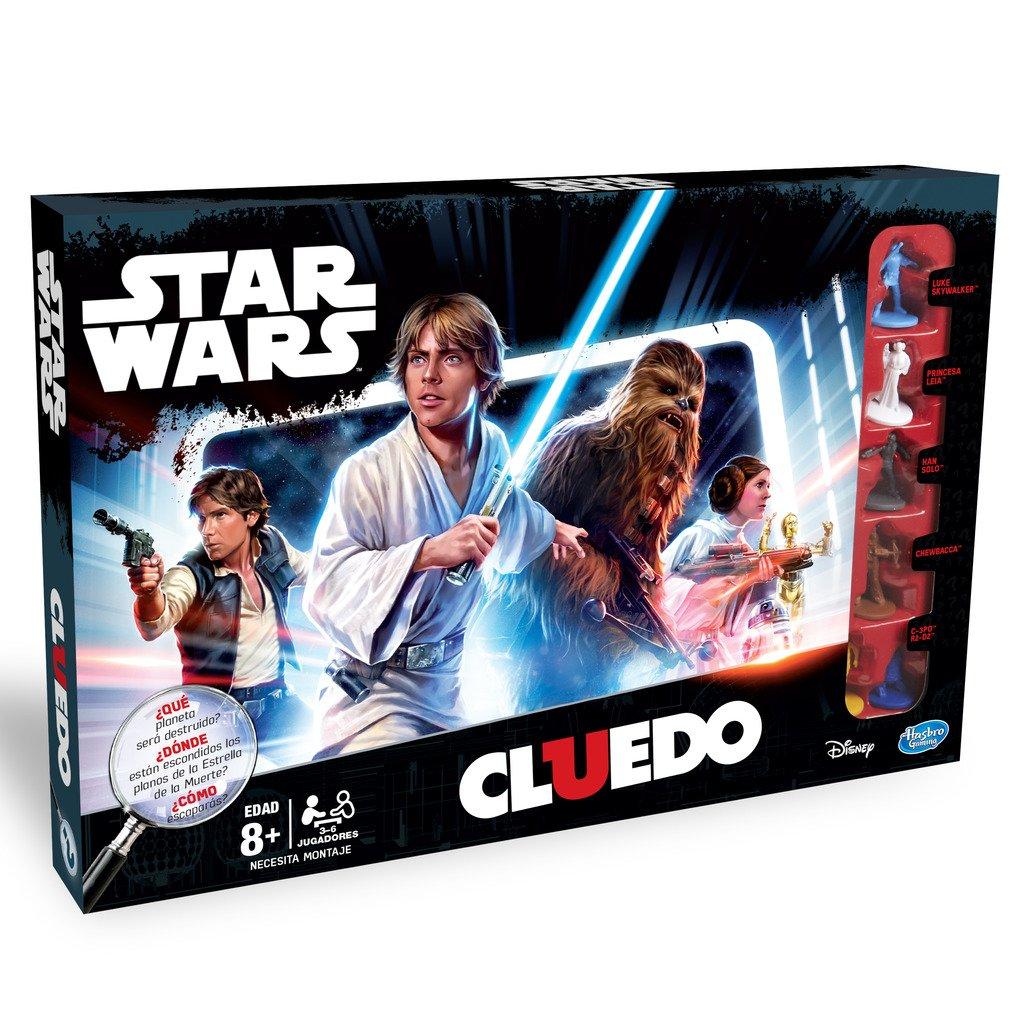 Star Wars Cluedo Juego De Mesa Hasbro B7688105 Regalos De