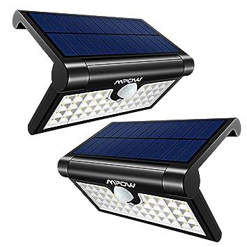 Mpow 42LED Plegable Luz Solar,Sensor de Movimiento,Luz Exterior Portátil,Luz de