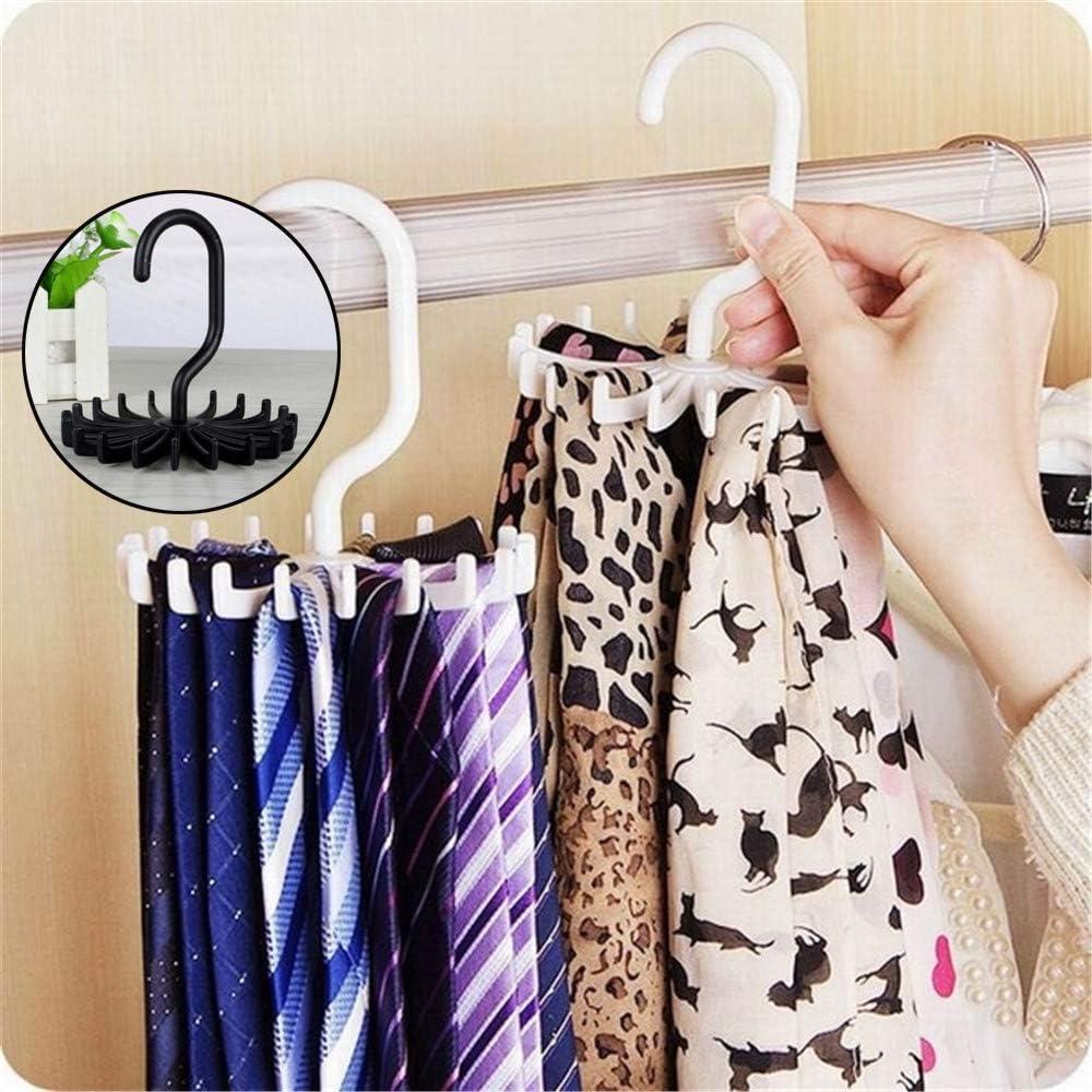 Rangement en Plastique rooteroy Porte-Cravates Rotatif Shihao159 pour /économiser de lespace