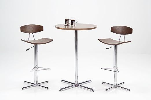 Ac design furniture sgabello alto caroline seduta e schienale